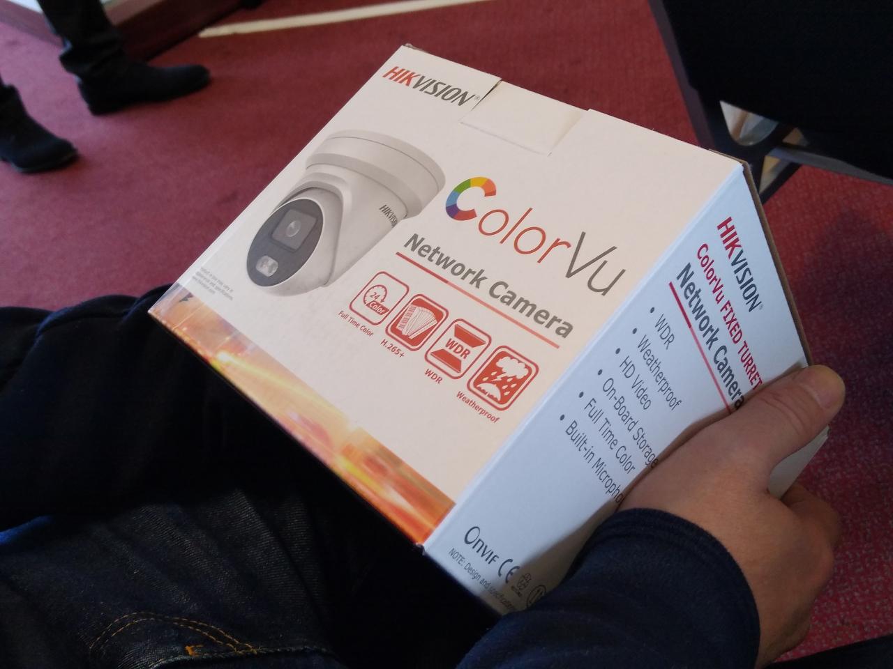 ColorVu Camera Box