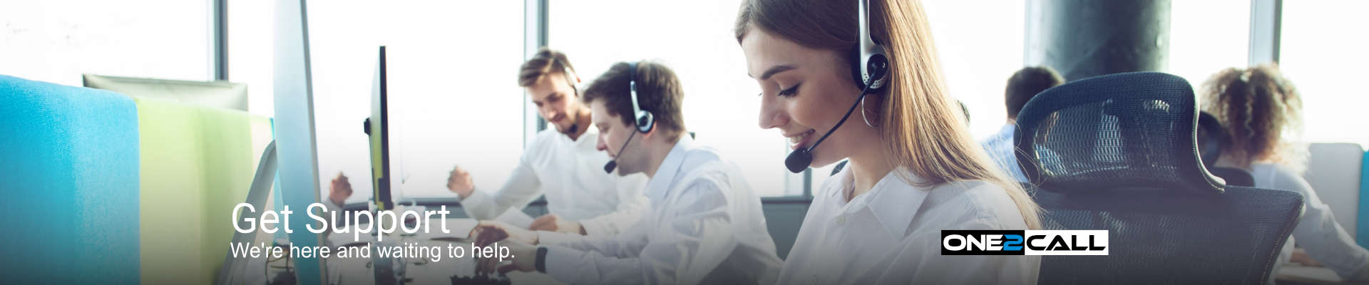 Get Support - We're here ad waiting to help.