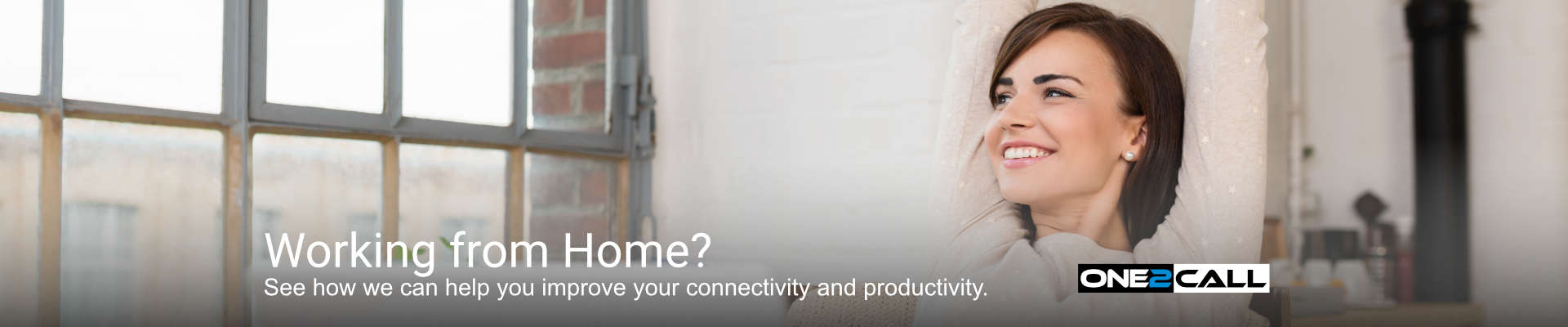 We can help you improve connectivity whilst working from home.