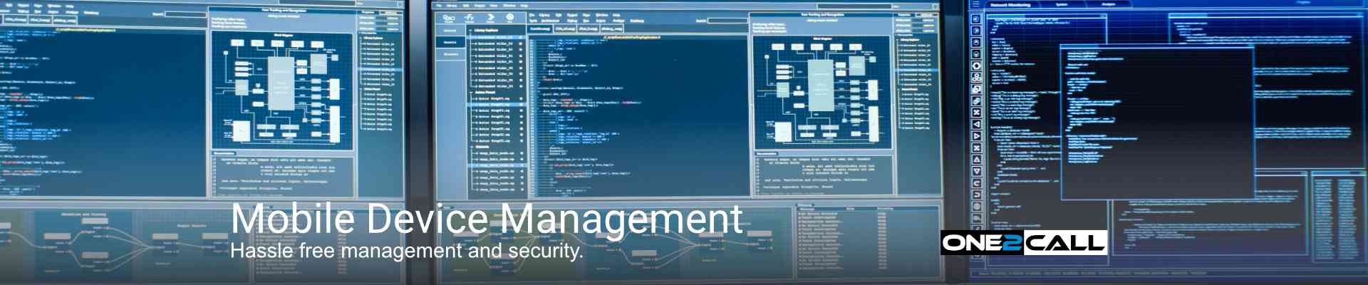 Mobile Device Management - Hassle free management and security.