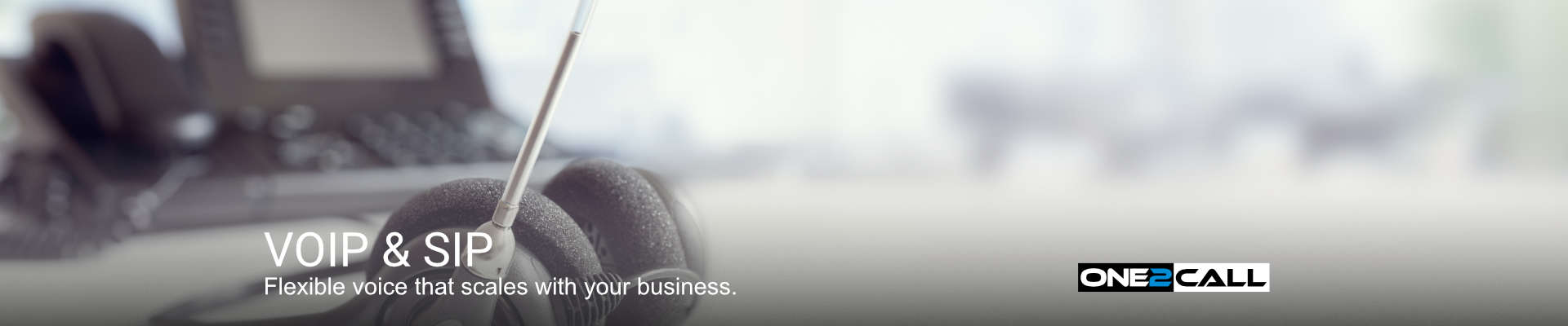 VOIP & SIP - Flexible voice that scales with your business.
