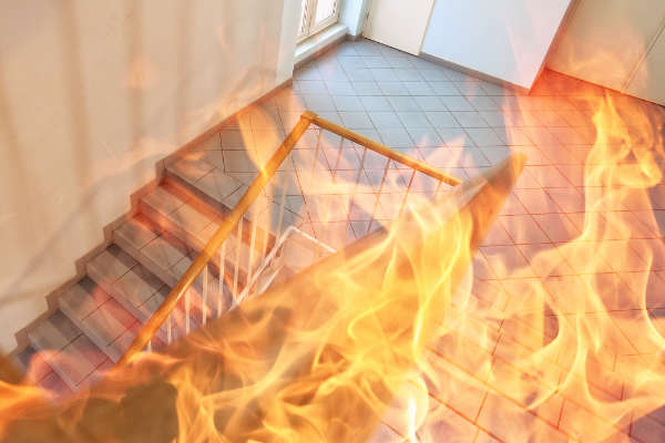 How do fire preventing thermal imaging cameras work?
