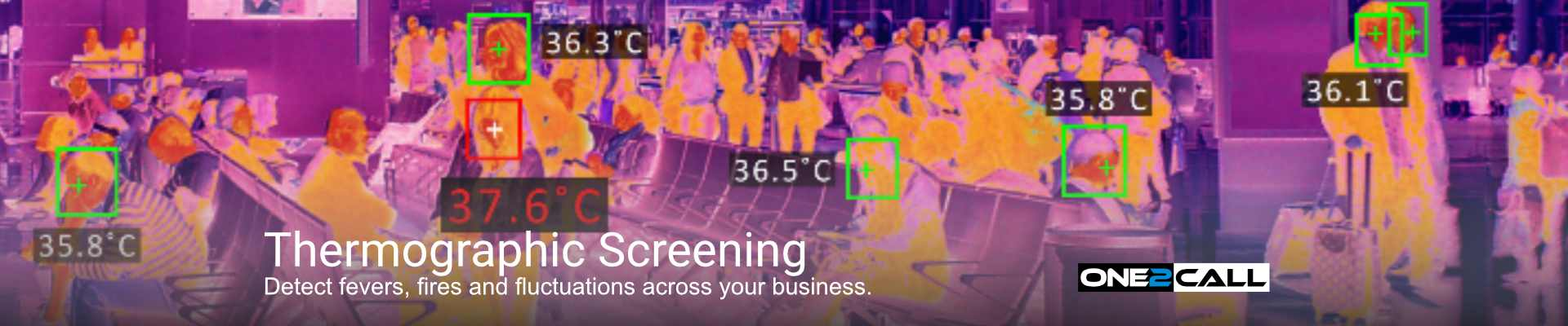 Thermographic Temperature Screen - Detect fevers, fires and fluctuations across your business.