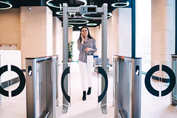 Entrance Metal Detector