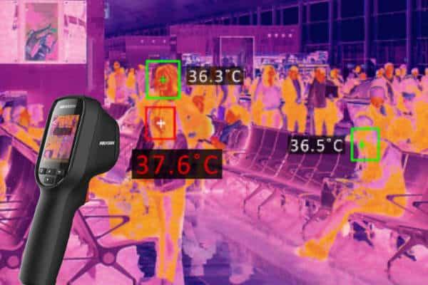 Handheld Thermographic Camera